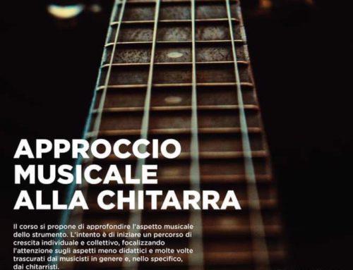 Approccio musicale alla chitarra