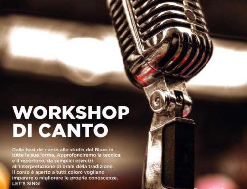 Workshop di canto